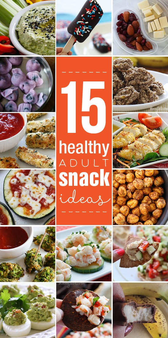 15 Healthy and Light Adult Snack Ideas