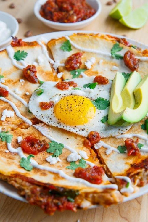 Quesadilla Huevos Rancheros