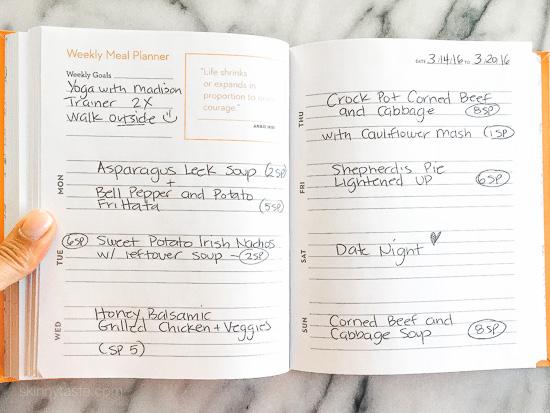 Skinnytaste Dinner Plan (Week 20)